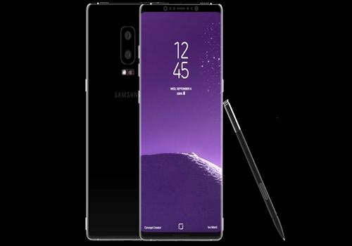Galaxy Note 8 konsept