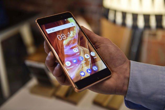 Android Nokia 6 cihazı.