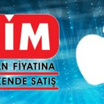 Bim'de satılacak orjinal Apple ürünleri.