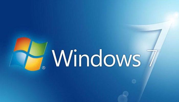 Windows 7 logosu nasil gorunuyor